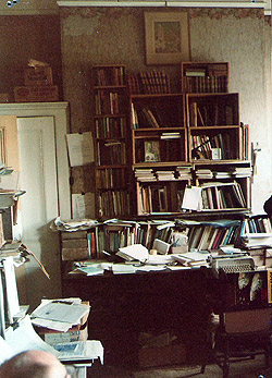 Sykes' personal library
